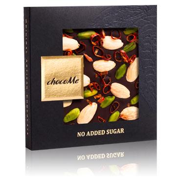Chocome - dunkle Schokolade mit Chiliringen