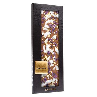 Chocome - Milchschokolade mit kandierten Veilchen