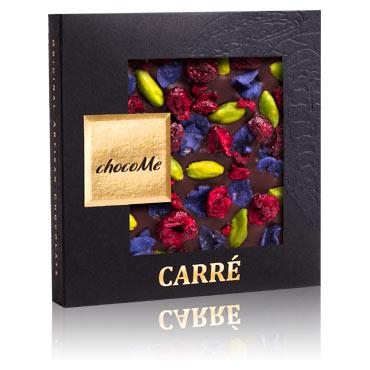 Valrhona Schokolade mit kandierten Veichenblüten
