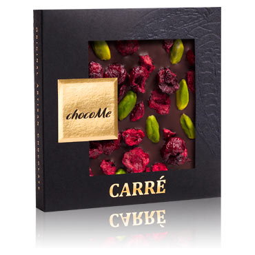 Valrhona Schokolade mit Pistazie
