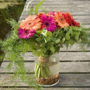 Blumenstrauß mit Gerbera