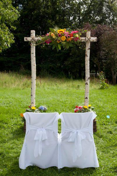Altarschmuck Blumendekoration