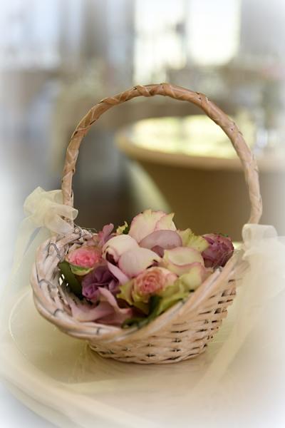 Blumen zum Streuen