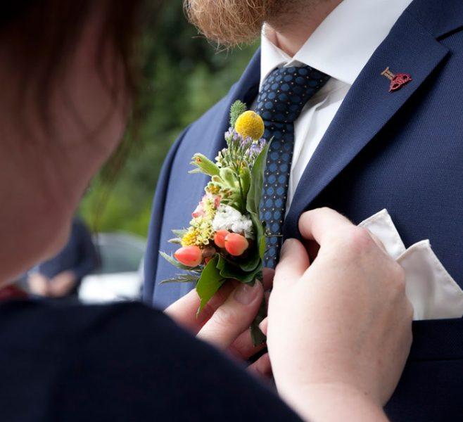 Brautschmuck vom Florist