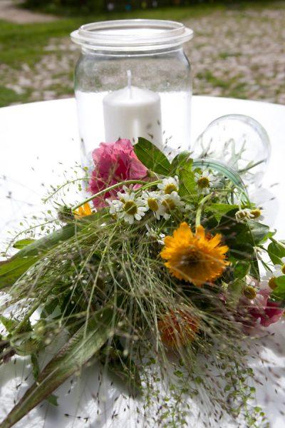 Hochzeitsdekoration aus Kiel