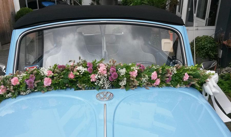 Brautstrauss Tischdekoration Blumen Für Die Hochzeit Am Strand