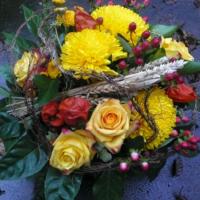Blumenstrauss mit Chrysantheme