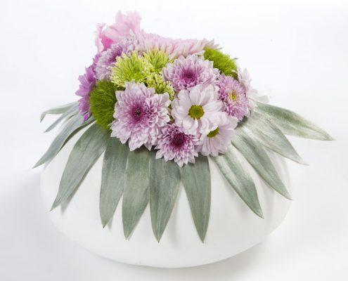 Gesteck aus Chrysanthemen