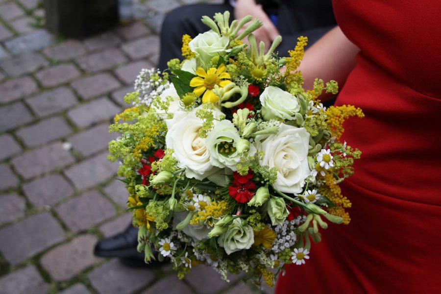 Brautstrauß für Standesamt
