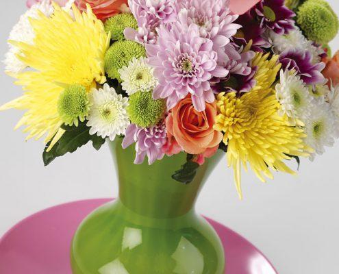 poppig in der Vase