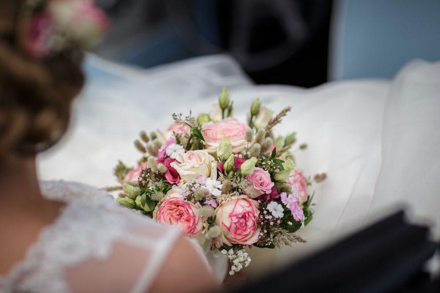 Brautstrauss, wenn in Kiel geheiratet wird