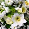 Gemischt weißer Blumenstrauß von Ihrem Florist in Kiel