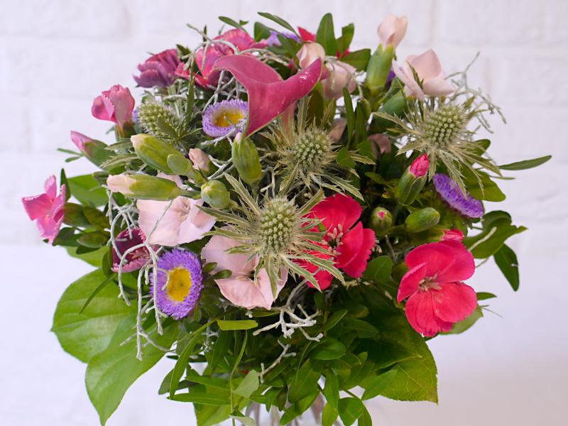 Blumenstrauss Lieferung am Montag