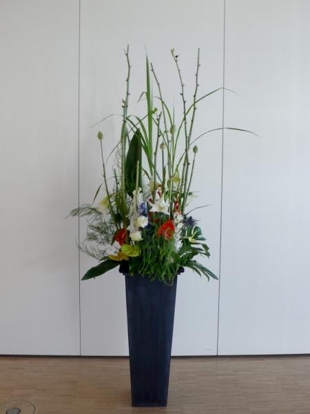Blumendekoration für Bodenvase