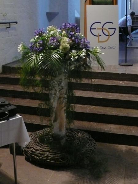 Blumendekoration Veranstaltung