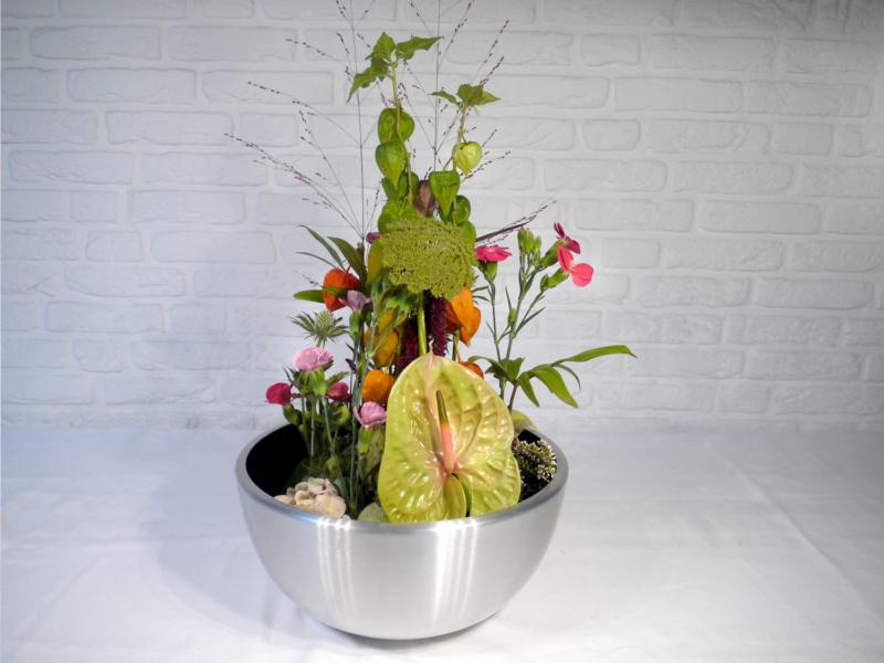 Floraldesign, Tisch- oder Counterdekor