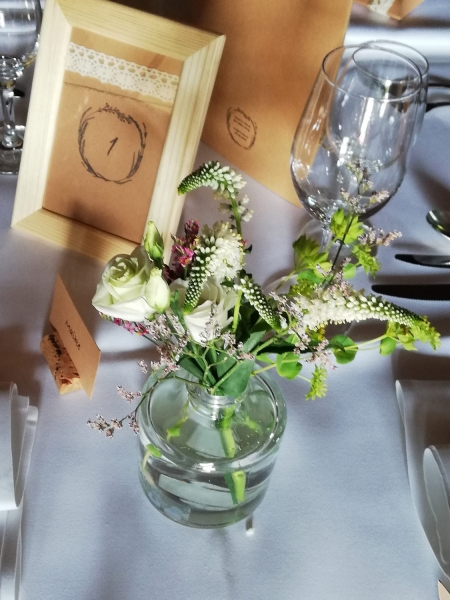 Blumendekor Tischschmuck