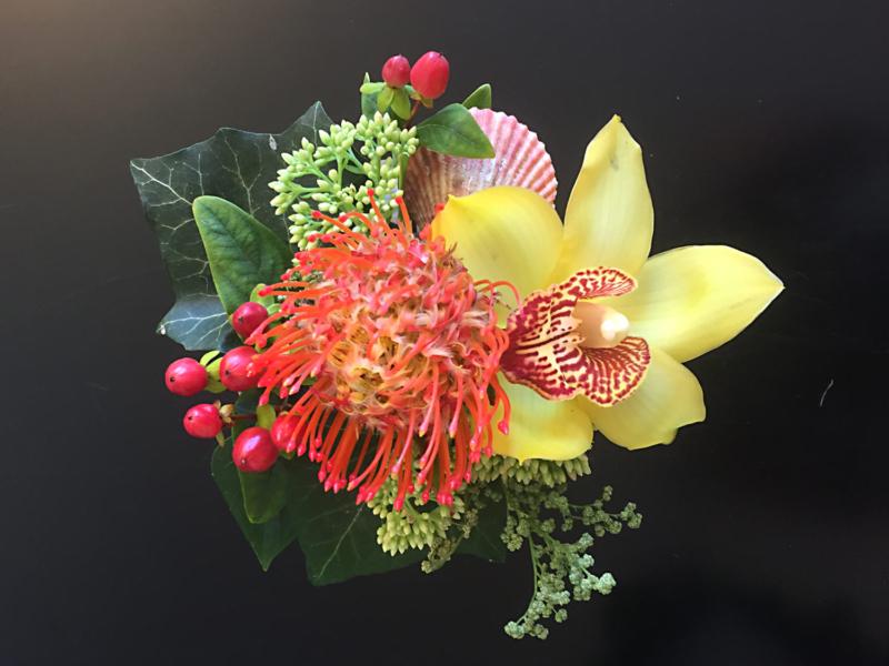 kleine Blumendekoration