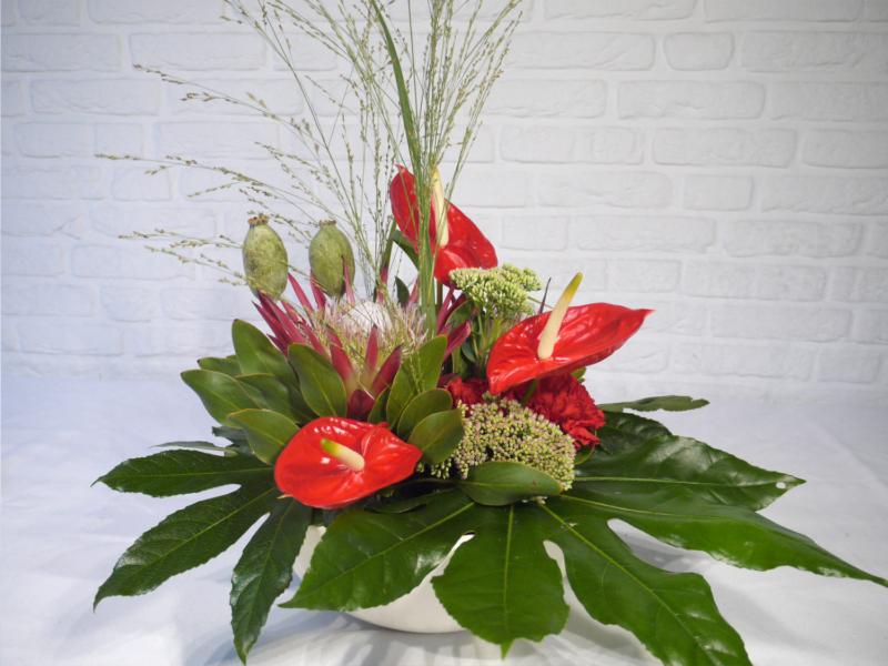 Blumengesteck für Counter, Tisch