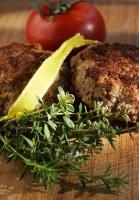 aus unserer Kräuterküche: Bouletten mit Thymian