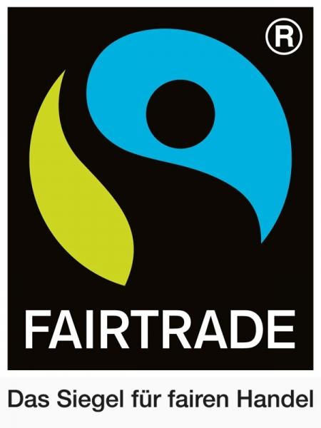 Fairtrade-Siegel copyright Fairtrade