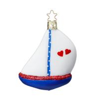 Segelboot, maritime Weihnachtsdekoration