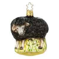Inge Glas schwarzes Schaf, Schmuck für den Tannenbaum zum Aufhängen